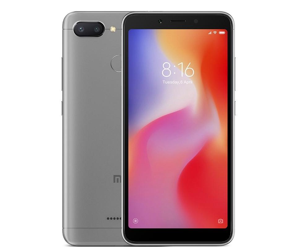 Xiaomi Redmi 6 3/32GB Grey   MiStore.pl - Oficjalny salon ...